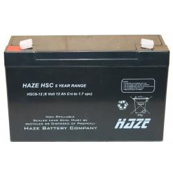 HAZE AGM 6V-12Ah