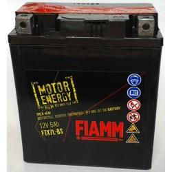 FTX7L-BS , 12V-6.5Ah