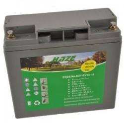 Batería Golf. Gel HAZE 12V-18Ah