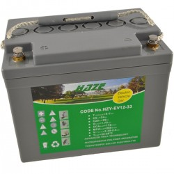 Batería Golf. Gel HAZE 12V-33Ah