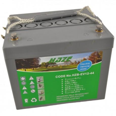 Batería semitracción. Gel HAZE 12V-44Ah