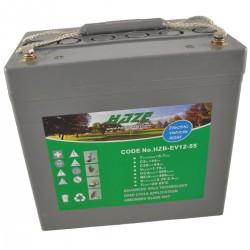 Batería semitracción. Gel HAZE 12V-55Ah