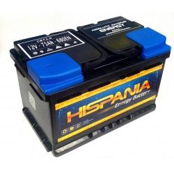 Batería HISPANIA 75 Ah