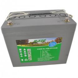 Batería semitracción. Gel HAZE 12V-80Ah