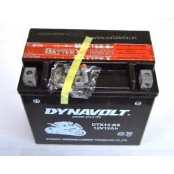 Batería auxiliar para Mercedes. AGM DYNAVOLT YTX14-BS