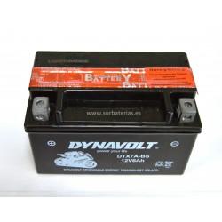 Batería de moto AGM DYNAVOLT YTX7A-BS