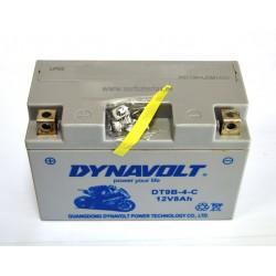 Batería de moto AGM DYNAVOLT YT9B-4
