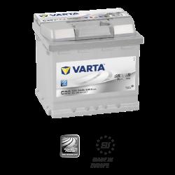 Batería VARTA SILVER DYMANIC C30-54Ah ( Positivo derecha)