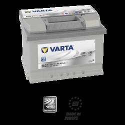 Batería VARTA SILVER DYMANIC D21-61Ah - (Positivo derecha)