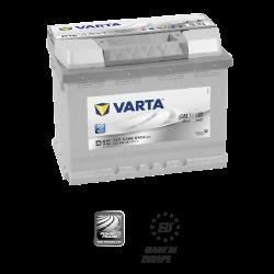Batería VARTA SILVER DYMANIC D15-63Ah - (Positivo derecha)