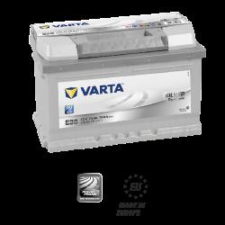 Batería VARTA SILVER DYMANIC E38-74Ah - (Positivo derecha)