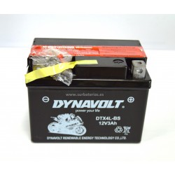 Batería moto AGM DYNAVOLT DTX4L-BS