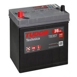 Batería de coche TUDOR Technica. 35Ah-240EN-Modelo TB356A( Borna fina)