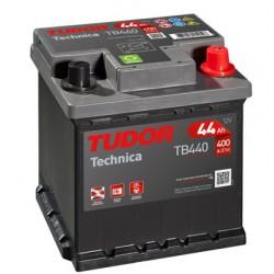 Batería de coche TUDOR Technica. 35Ah-240EN-Modelo TB357 (Borna fina)
