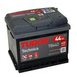 Batería de coche TUDOR Technica. 44Ah-400EN-Modelo TB440