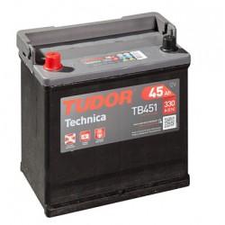 Batería de coche TUDOR Technica. 45Ah-330EN-Modelo TB450