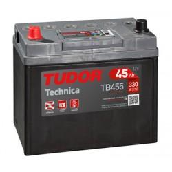 Batería de coche TUDOR Technica. 45Ah-300EN-Modelo TB454