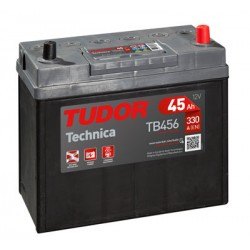 Batería de coche TUDOR Technica. 45Ah-300EN-Modelo TB455