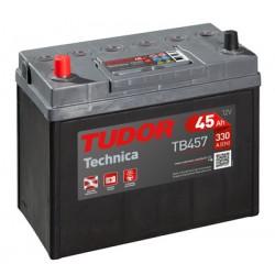 Batería de coche TUDOR Technica. 45Ah-300EN-Modelo TB456 (Borna fina)