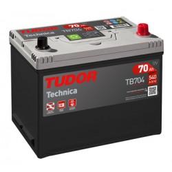Batería de coche TUDOR Technica. 62Ah-540EN-Modelo TB621