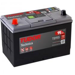 Batería de coche 4X4 TUDOR Technica. 95Ah-800EN-Modelo TB954