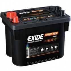 Batería para CARAVANAS Y NAUTICA. Éxide Dual 142Ah- ER650