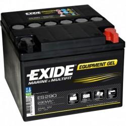 Batería de gel para CARAVANAS Y NAUTICA. Éxide 56Ah- ES650