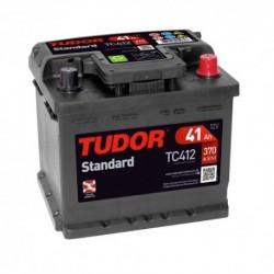 Batería de coche TUDOR STANDARD. 41Ah-370EN-Modelo TC412delo TB442