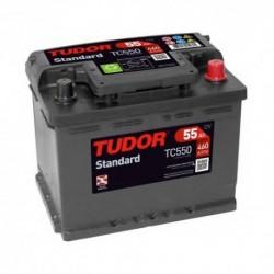 Batería de coche TUDOR STANDARD. 54Ah-460EN-Modelo TC550