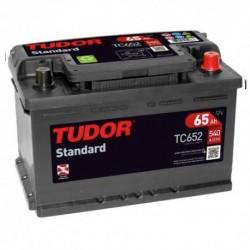 Batería de coche TUDOR STANDARD. 65Ah-540EN-Modelo TC652