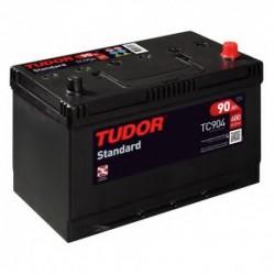 Batería de coche TUDOR STANDARD. 90Ah-680EN-Modelo TC904