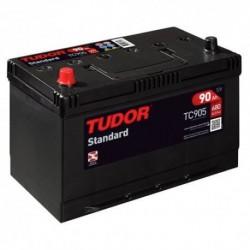 Batería de coche TUDOR STANDARD. 90Ah-680EN-Modelo TC905