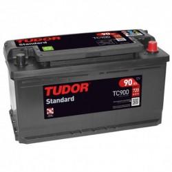 Batería de coche TUDOR STANDARD. 90Ah-720EN-Modelo TC900