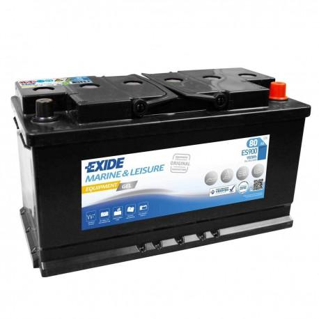 Batería de gel para CARAVANAS Y NAUTICA. Éxide 80Ah- ES900