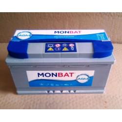 Batería MONBAT AGM CICLICA 95Ah para barcas de pesca