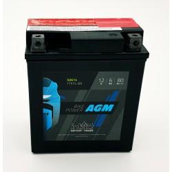 Batería moto AGM INTACT YTX7L-BS