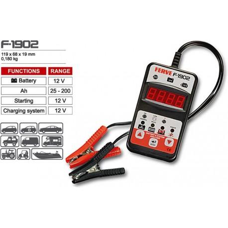 Analizador de baterías FERVE F1902