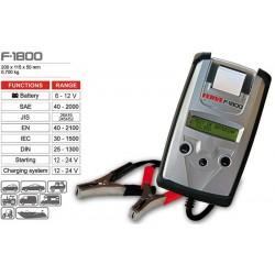 Analizador de baterías F1800